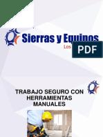 Manejo Seguro de Herramientas Manuales 26-07-2018