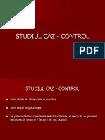 Studiul Caz-Control
