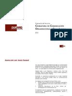 Propuesta Comunicación Organizacional