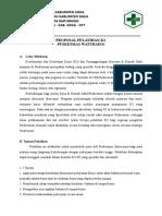Proposal Pelatihan k3 Puskesmas Watubaing