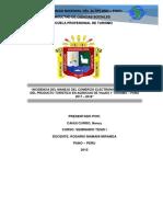 Incidencia Del Manejo Del Comercio Electronico en La Venta Del Producto Turistico en Agencias de Viajes y Turismo