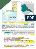 History Medival History Delhi Sultan