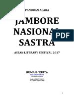 Panduan Acara - Jambore Nasional Sastra 2017.v2
