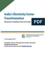 India Electricity Sector Transformation Nov 2017 3