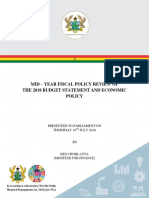 2018 Mid-Year Fiscal Policy Review