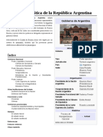 Gobierno de la Republica Argentina