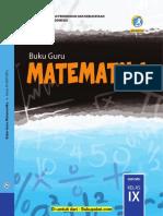 Buku Guru Matematika 9.pdf