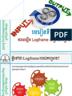 Module 2- Project Logframe in Khmer- By Mr. Khim Narith-19!07!2018