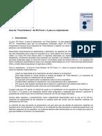 Guia de Food Defense de IFS Food v. 6 Para Su Implantacion