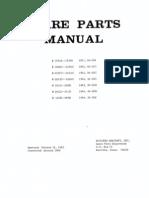 Mooney Spare Parts Manual