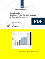 RTD 1016-1(2017) Version 2.1 Guidelines for Nonlinear Finite Element Analysis of Concrete Structures