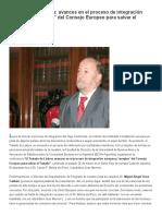 Avances en El Proceso de Integración Europea