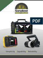 Sitescan d20 Ultrasonic Flaw Detector