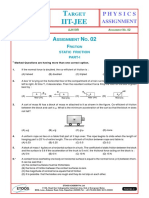 Assignment 02 Friction AJN Sir-2909