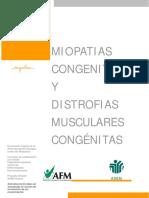 Miopatias Congenitas y DM Congenitas