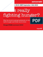 ActionAid Scorecard Report 2010