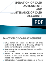 Cash Assignments