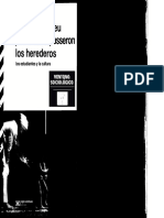 Bourdieu - Los Herederos, Los Estudiantes y La Cultura