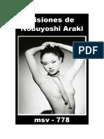 (msv-778) Visiones de Nobuyoshi Araki