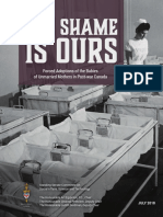 The Shame Is Ours