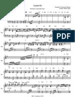 Aquarela - Piano