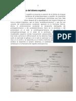 Árbol Genealógico Del Idioma Español