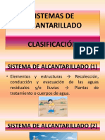 1. Sistema de Alcantarillado - Tipos