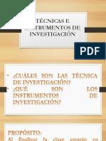 11-Tecnicas e Instrumentos