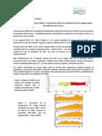 Informe Sequía MARN 2016 No. 1