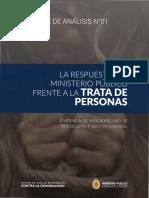Ofaec Informe de Trata de Personas