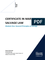 Marine Salvage Law