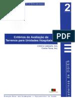 Caderno DGIES Nº 2 - Critérios de Avaliação de Terrenos Para Unidades Hospitalares