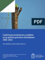 Coaliciones promotoras y cambios en la política petrolera colombiana