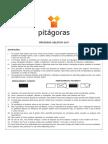 Prova Pitágoras