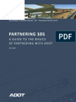 Partnering 101 a Guide to the Basics of Partnering With Adot