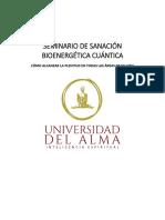 Seminario de Sanación Bioenergetica Cuantica