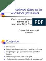 Charla Octavio Etica