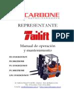 Manual de Servicios - Tailift FD25