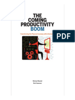 The Coming Productivity Boom Transforming the Physical Economy With Information March 2017