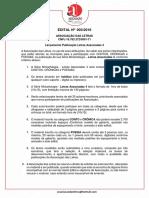003 ALTERAÇÃO EDITAL Lançamento Publicação Letras Associadas 4