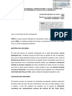 CASACIÓN LABORAL Nº 16809 - 2016       Nulidad de despido fraudulento de ANITA PAUCAR CHILO