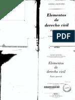 Cifuentes, Santos - Elementos de Derecho Civil