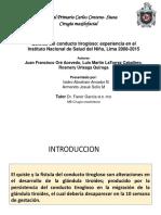 Revisión Bibliográfica Traumatismo Abdominal.