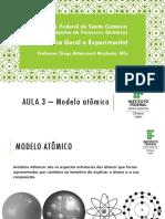 Modelo Atômico (apresentação)