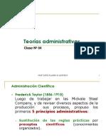 Clase Nº 03 - Teorías Administ.