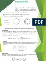 Diapositivas de Quimica Bencenos