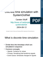 Discrete Time Simulation in SystemDotNet