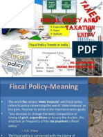 20 Unit v Fiscal Policy