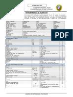 Acta de Entrega de Camioneta Toyota Hilux - Egm-001 Nº 002-2015