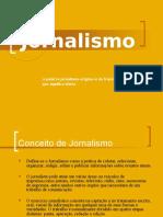 Apresentação sobre Jornalismo